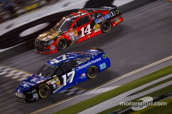 Ricky Stenhouse Jr. and Tony Stewart