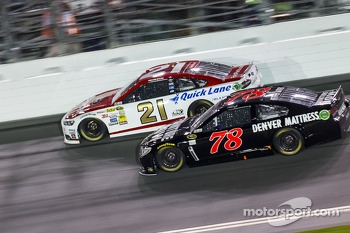 Trevor Bayne and Martin Truex Jr.