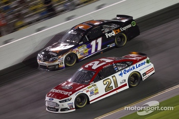 Trevor Bayne and Denny Hamlin