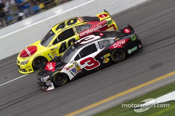 Austin Dillon and Landon Cassill