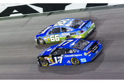Ricky Stenhouse Jr. and Michael Waltrip