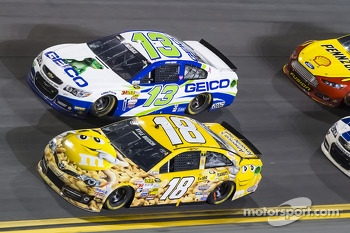 Kyle Busch and Casey Mears