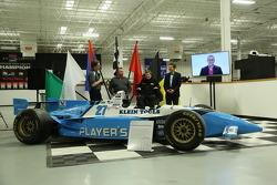 Jacques Villeneuve and Schmidt Petersen Motorsports announce Indy 500 plan