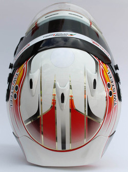 The helmet of Daniel Juncadella, Sahara Force India F1 Team Test and Reserve Driver