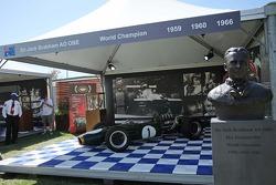 A display for three time World Champion Sir Jack Brabham (AUS)