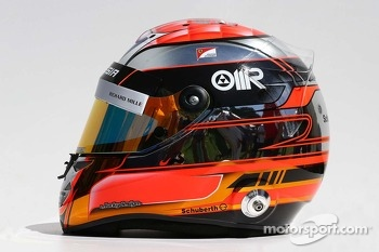 The helmet of Jules Bianchi, Marussia F1 Team