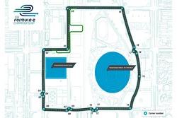 Formula E unveils first track