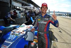 PC class polesitter Bruno Junqueira