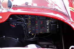 HoF Charity Laps: detail of the Ferrari 250 Testa Rossa