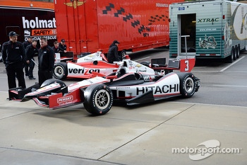 The car of Helio Castroneves