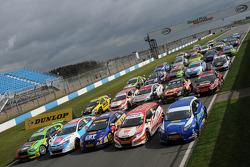 The 2014 BTCC grid