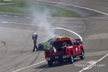 Trouble for Landon Cassill