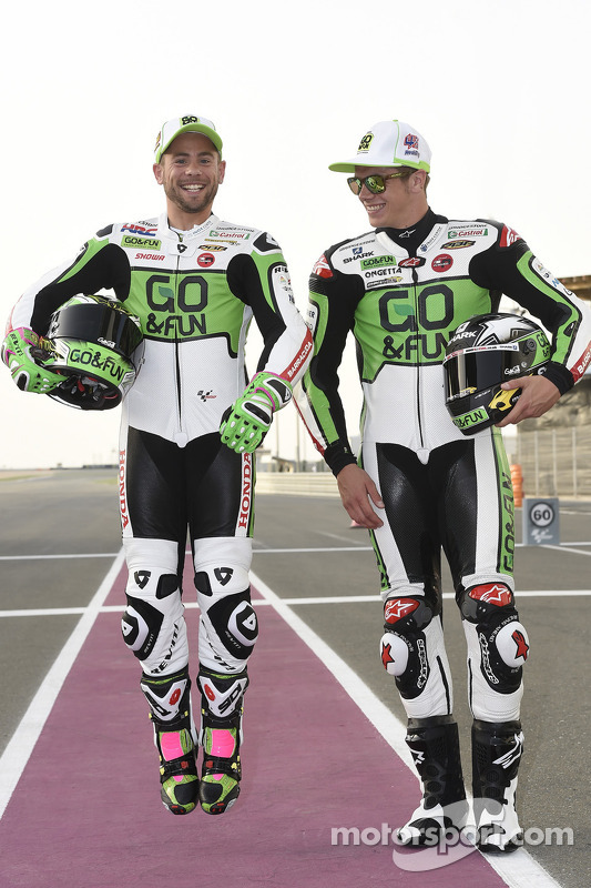 Alvaro Bautista and Scott Redding