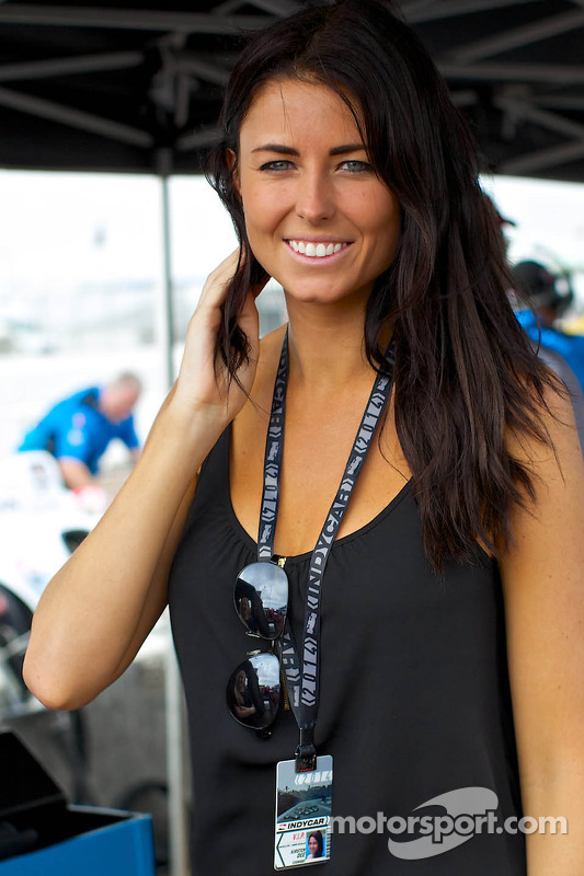 James Hinchcliffe's girlfriend Kirsten Dee