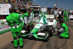 Car of Carlos Munoz, Andretti Autosport Honda