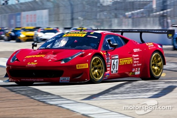 #61 Remo Ferri Group Ferrari Italia 458 GT3: Anthony Lazzaro
