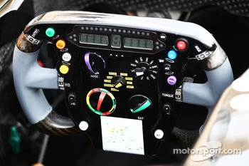 Sahara Force India F1 VJM07 steering wheel