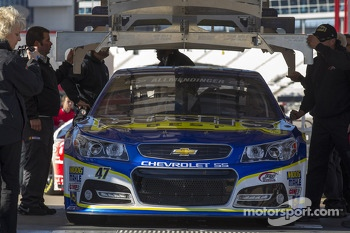 Car of A.J. Allmendinger, JTG Daugherty Racing Chevrolet