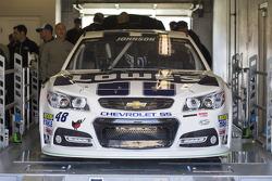 Car of Jimmie Johnson, Hendrick Motorsports Chevrolet