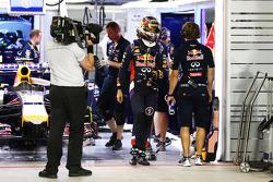 Sebastian Vettel, Red Bull Racing finishes outside the top ten in Q2