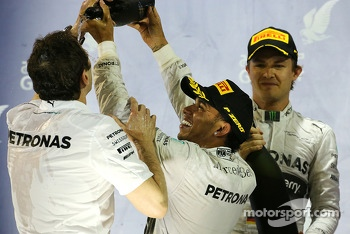 Lewis Hamilton, Mercedes AMG F1 Team and Nico Rosberg, Mercedes AMG F1 Team  06