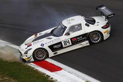 #84 HTP Motorsport Mercedes SLS AMG GT3: Harold Primat, Nico Verdonck, Maximilian Buhk