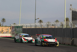 Crash, Mehdi Bennani, Honda Civic WTCC, Proteam Racing