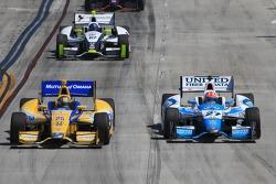 Marco Andretti, Andretti Autosport Honda and James Hinchcliffe, Andretti Autosport Honda