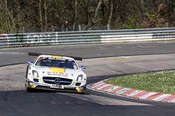 Nico Bastian, Michael Zehe, Christian Hohenadel, Rowe Racing, Mercedes-Benz SLS AMG GT3