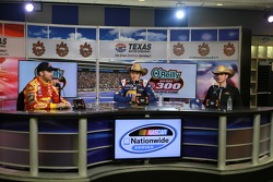 Dale Earnhardt Jr., Chase Elliott, Greg Ives
