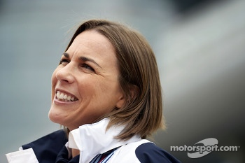 Claire Williams, Williams Deputy Team Principal.