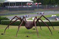 The spider sculpture