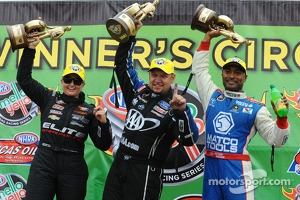 Erica Enders, Robert Hight and Anton Brown