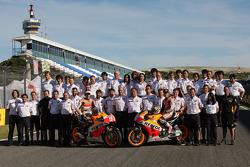 Repsol Honda team photo