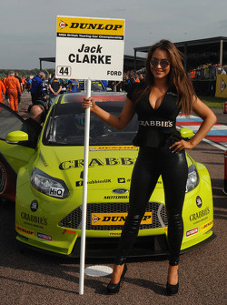 Crabbies Racing Grid girl