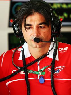 Francesco Nenci, Marussia F1 Team Race Engineer