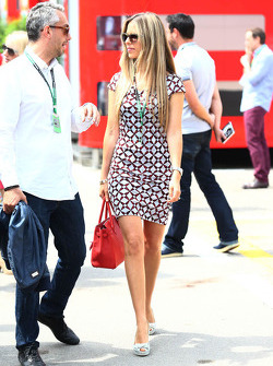 Vivian Sibold, girlfriend of Nico Rosberg, Mercedes AMG F1