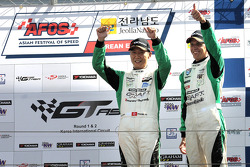 GT: Podium for Frank Yo and Warren Luff