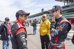 Juan Pablo Montoya and Kurt Busch