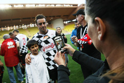 Fernando Alonso, Ferrari at the charity football match