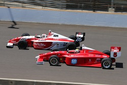 Zach Veach, Andretti Autosport and Gabby Chaves, Belardi Auto Racing