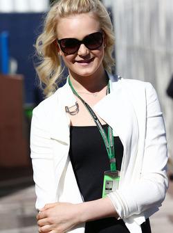Emilia Pikkarainen, Swimmer, girlfriend of Valtteri Bottas, Williams