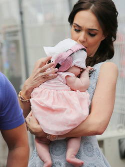Tamara Ecclestone, with her baby daughter Sophie