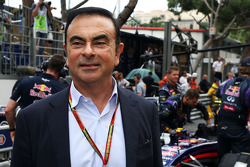 Carlos Ghosn, Chairman of Renault on the grid