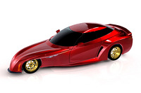 DeltaWing road car