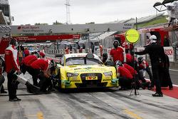 Pitstop Mike Rockenfeller, Audi Sport Team Phoenix Audi RS 5 DTM