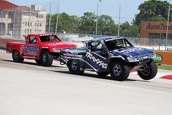 Super-Truck action