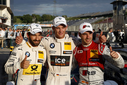 Pole for Marco Wittmann, BMW Team RMG BMW M4 DTM, 2nd Timo Glock, BMW Team MTEK BMW M3 DTM and Miguel Molina, Audi Sport Team Abt Audi RS 5 DTM