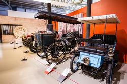 Vintage cars exhibit