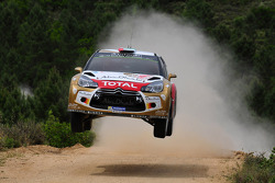 Khalid Al-Qassimi and Chris Patterson, Citroën DS3 WRC, Citroën Total Abu Dhabi World Rally Team